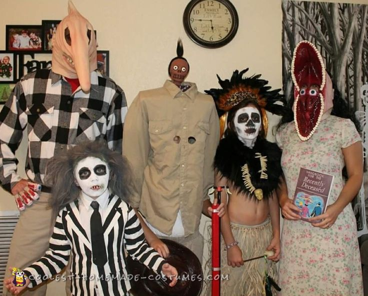 Beetlejuice Family Costume... Coolest Homemade Costumes