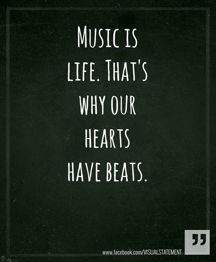 . . . ♪ ♫ ♩ ♬ . . .Music is life. . . ♪ ♫ ♩ ♬ . . .