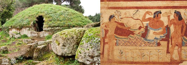 Le Necropoli Etrusche di Cerveteri e Tarquinia (Roma, Viterbo - Lazio): uniche straordinarie testimonianze della vita quotidiana, delle cerimonie, della mitologia e delle capacità artistiche del popolo etrusco. //////////// The Etruscan Necropolises of Cerveteri and Tarquinia (Rome, Viterbo - Latium): singular and extraordinary testaments to Etruscan quotidian life, as well as their ceremonies, mythology and even their artistic capacities.Tarquinia Roma, Del Popolo, Dells Capacità, Tarquinia Rome, Of Life, Vita Quotidiana, Della Mitologia, Travel Ideas, Cerveteri
