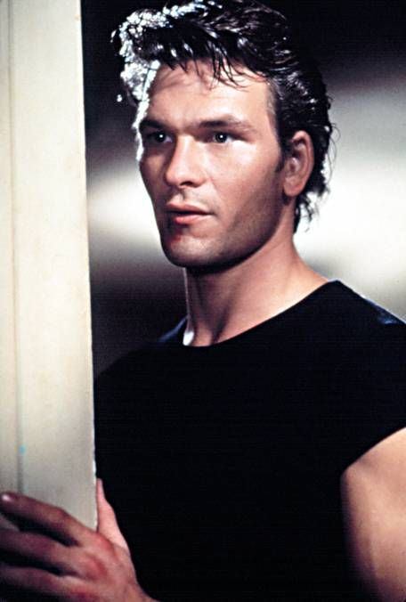Patrick Swayze, the best part about his character in Dirty Dancing was that he was really a nice guy, even if he dressed tough.