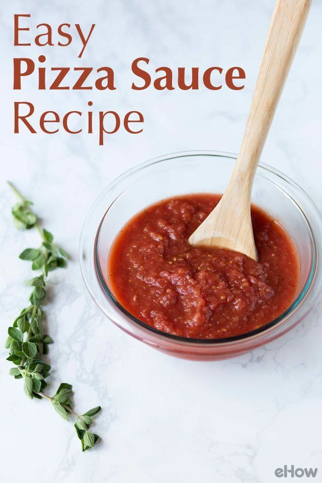 easy homemade pizza sauce recipe projects to try pinterest