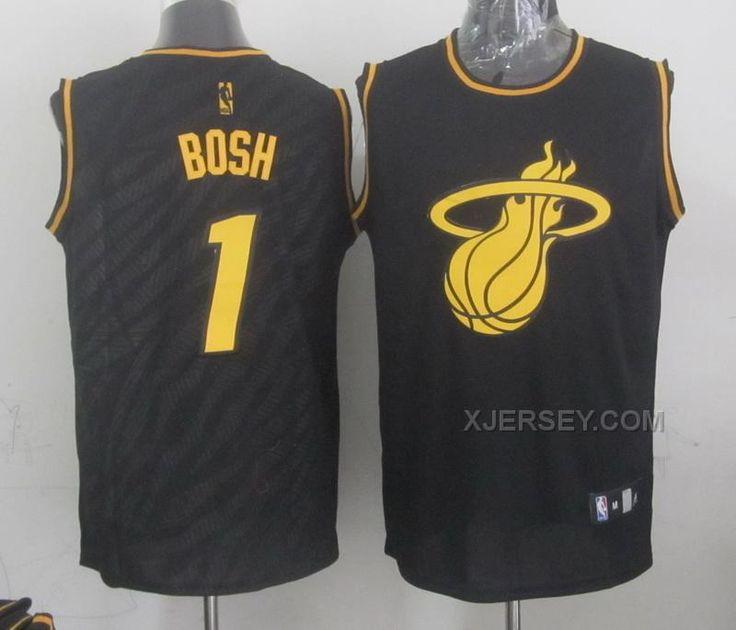 http://www.xjersey.com/heat-1-bosh-black-precious-metals-fashion-jerseys.html HEAT 1 BOSH BLACK PRECIOUS METALS FASHION JERSEYS Only $34.00 , Free Shipping!