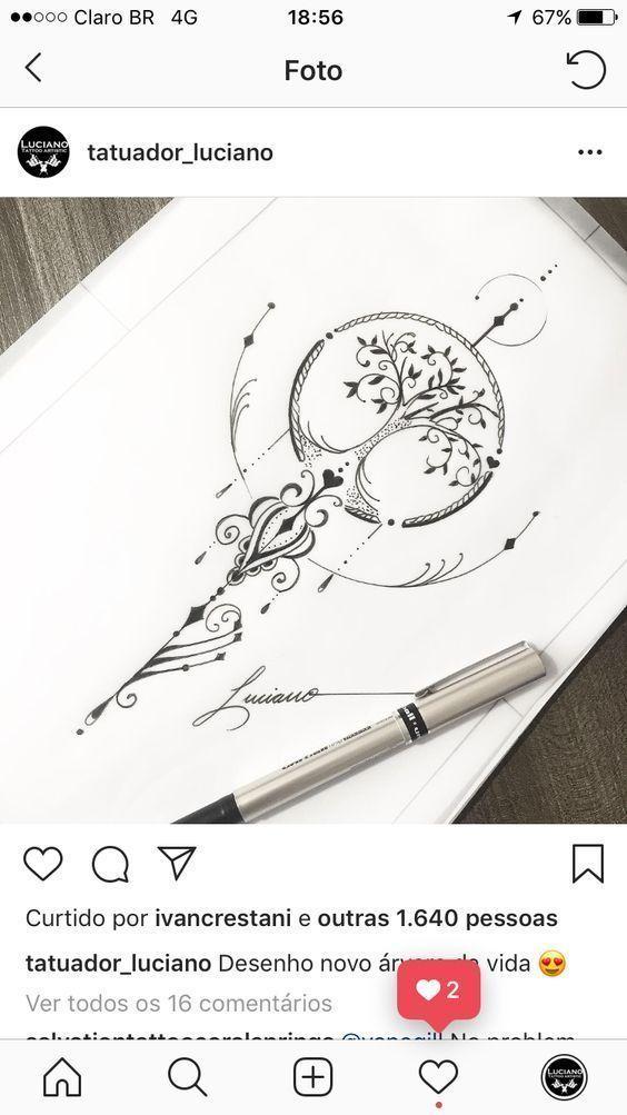 35 Ideen für großartige Tattoo Designs