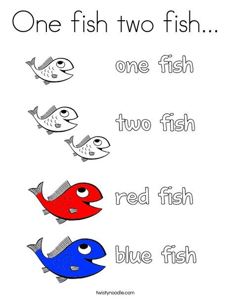 1000 ideas about one fish two fish on pinterest dr for Dr seuss one fish two fish