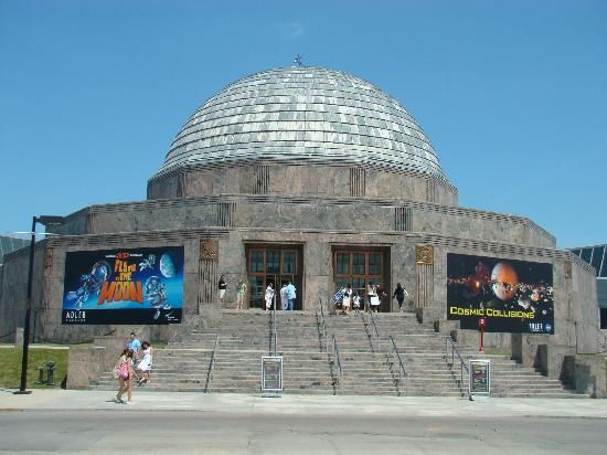 'Adler Planetarium & Astronomy Museum' is the first planetarium of The States rose to prominence in the year 1930. This dome-like structure would surely remind one of the grandness of universe.