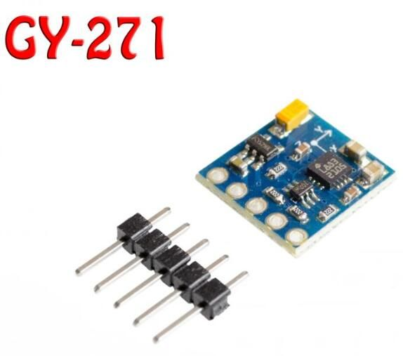 Find More Sensors Information about 1pcs/lot  GY 271 , HMC5883 HMC5883L module electronic compass compass module three axis magnetic field sensor,High Quality sensor receiver,China sensor nissan Suppliers, Cheap sensor bracket from Goldeleway smart orders store on Aliexpress.com