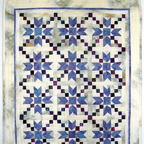 Miniature Quilts Photo Gallery: Baby Steps - Miniature Quilt