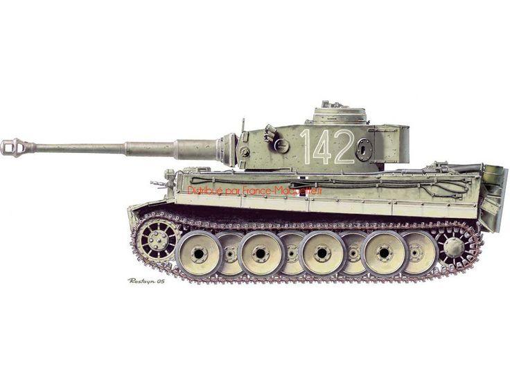 Maquette+militaire+:+Tigre+I+Production+Initiale+Tunisie+1942/43+-+1/35+-+Dragon+06608  Le+Tiger+I+(Tigre+I),+diminutif+de+Panzerkampfwagen+VI+Tiger+Ausführung+E+-+Sonderkraftfahrzeug+181,+char+d'assau...
