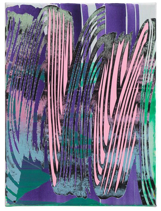 Christine Streuli, impulse 93, 2013, Monica De Cardenas