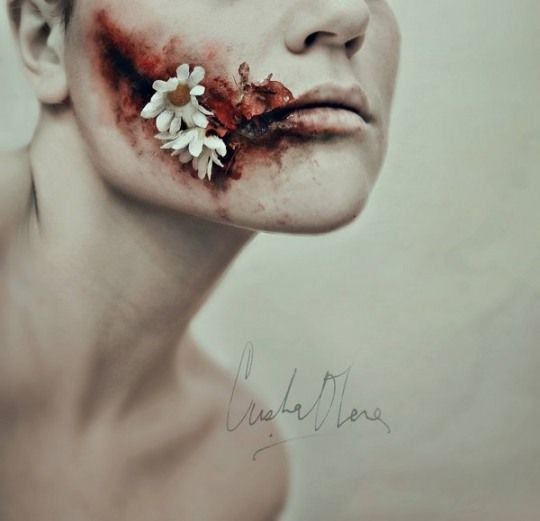 Creepy Portraits by Cristina Otero