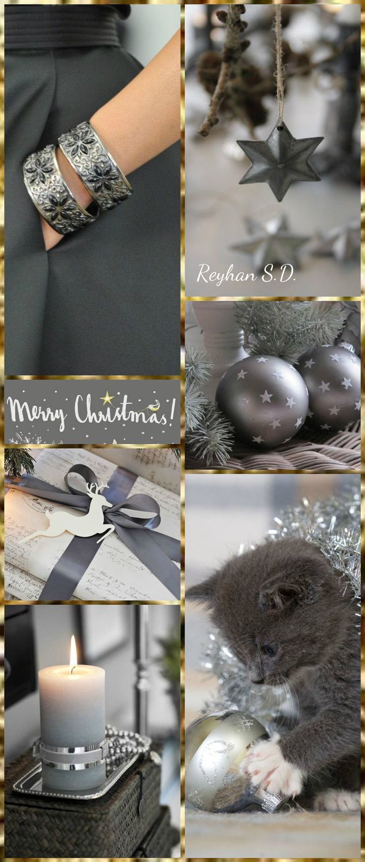 '' Christmas ~ Gray '' by Reyhan S.D