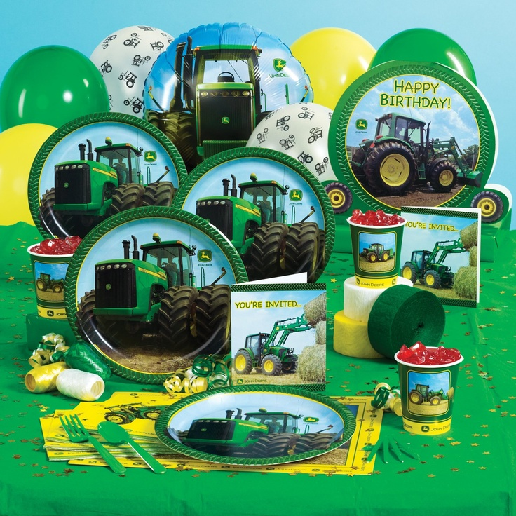 17 Best Images About John Deere Tractor Birthday On