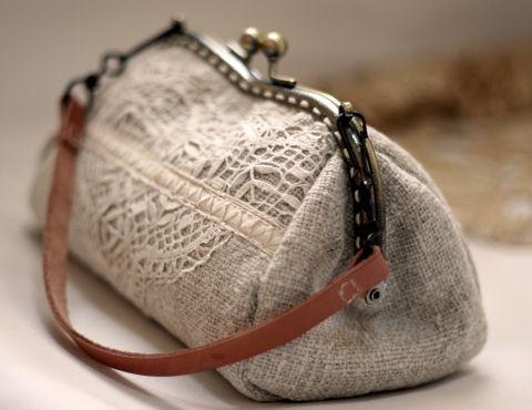 Idasagok - Fém keretes neszeszer, kézitáska, Meska  #vintage #handbag