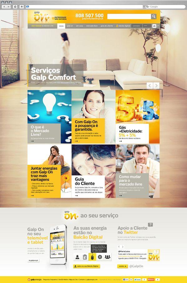 Galp On on Web Design Served