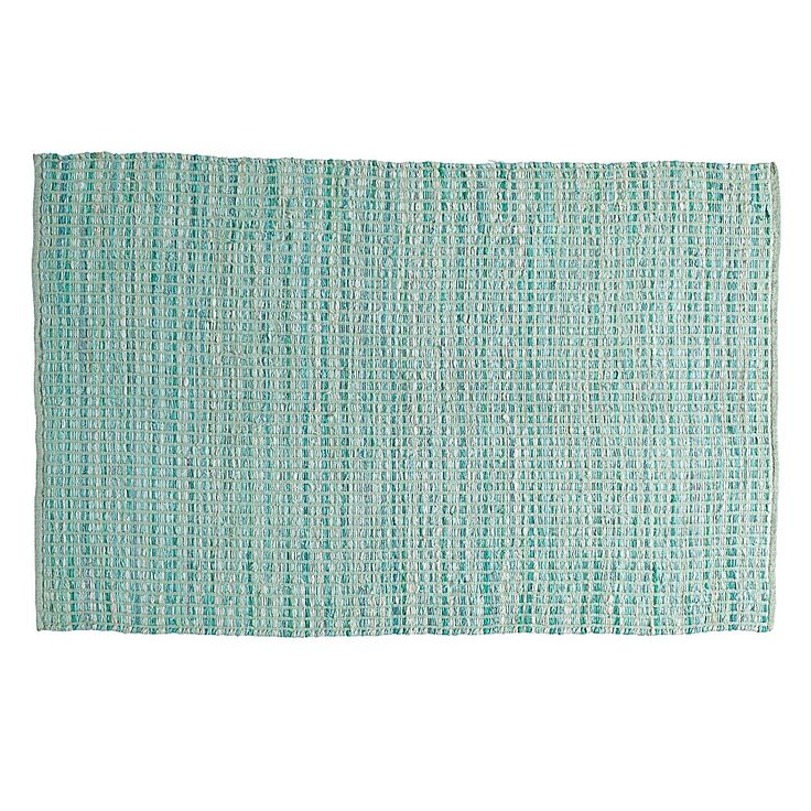 Rags to Riches rug, mint. Land of Nod