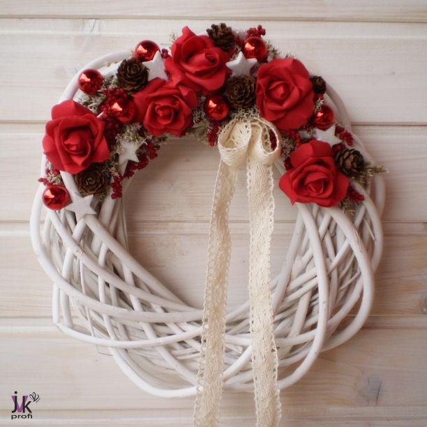 Vánoční věnec Ava – Potvor - pomáhat tvořit