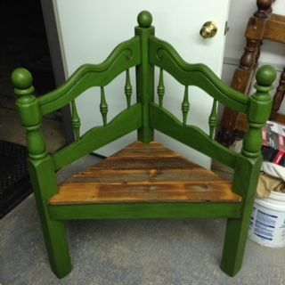 Twin headboard to corner bench