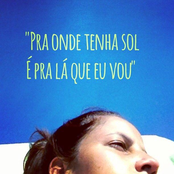 """#autoajudadodia por @ca_mattafonseca! """"Porque a vida fica mais bonita quando tem luz e calor"""", diz ela. E nós concordamos!"""