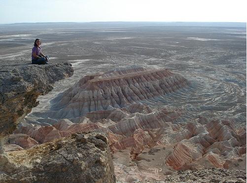Yangykala Canyon | TURKMENISTAN http://www.naturescanner.nl/azie/turkmenistan