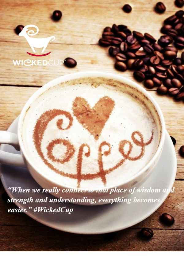 """When we really connect to that place of wisdom & strength & understanding,everything becomes easier."" #WickedCup"