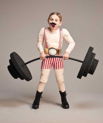 Disfraz de forzudo de circo - Circus strongman costume for boys