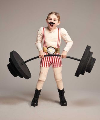Circus Strong Man Costume for Boys | Chasing Fireflies