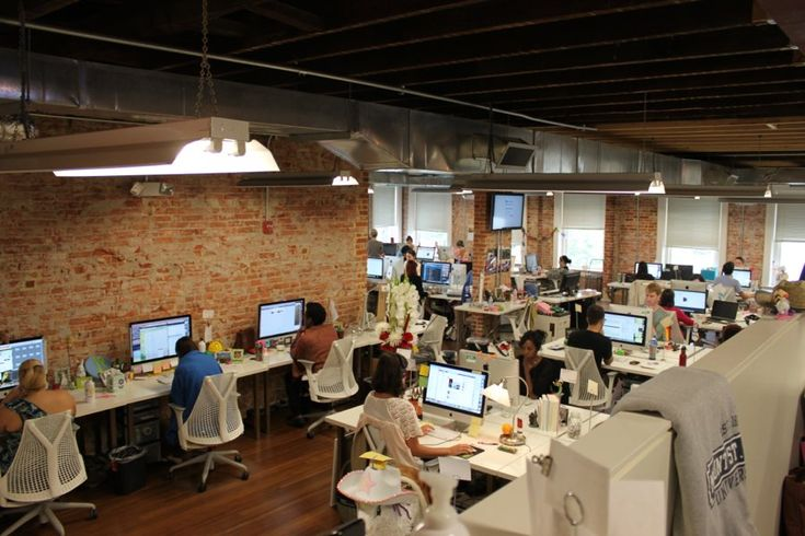 Living social office tour. If they weren't in such cool, industrial spaces I think these offices would look plain junky.