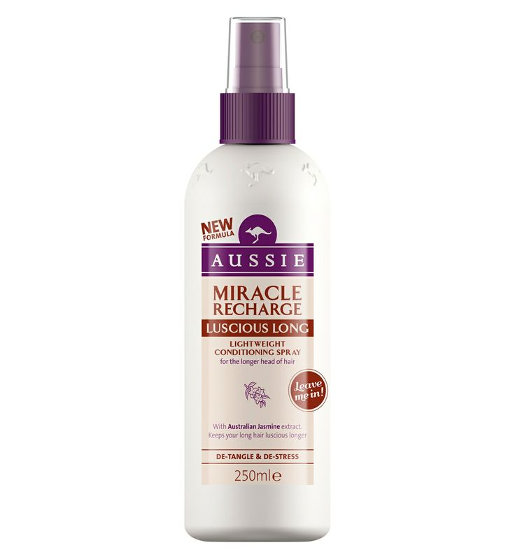 I LOVE Aussie products - this is one of my favourite as I have very long hair and fear breakage/ split ends so I use this from the middle to ends of my hair before I brush it! Works a treat.