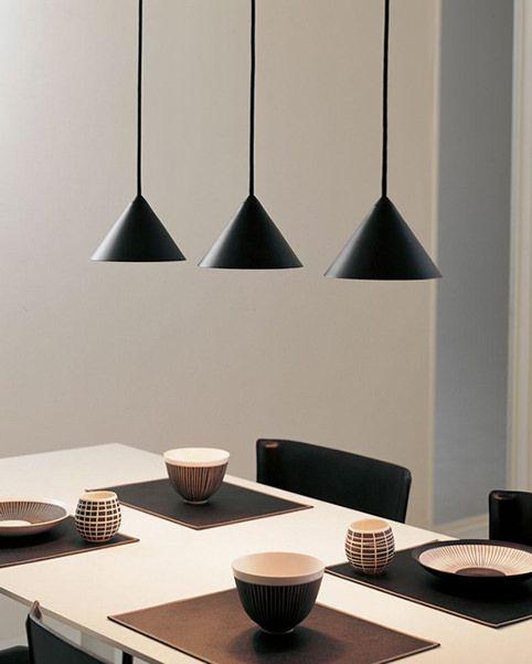 Cone LEDペンダント プラグ式 60W相当 マットブラック   インテリア照明の通販 照明のライティングファクトリー