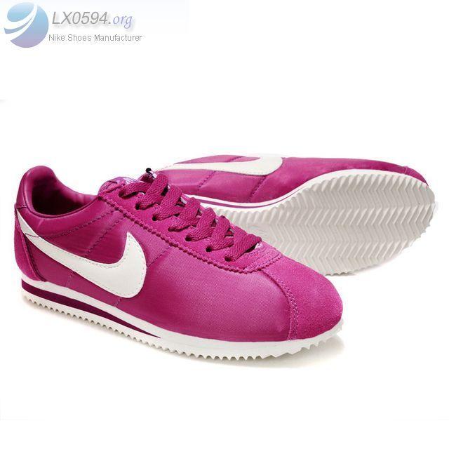 Womens Nike Cortez classic pink white