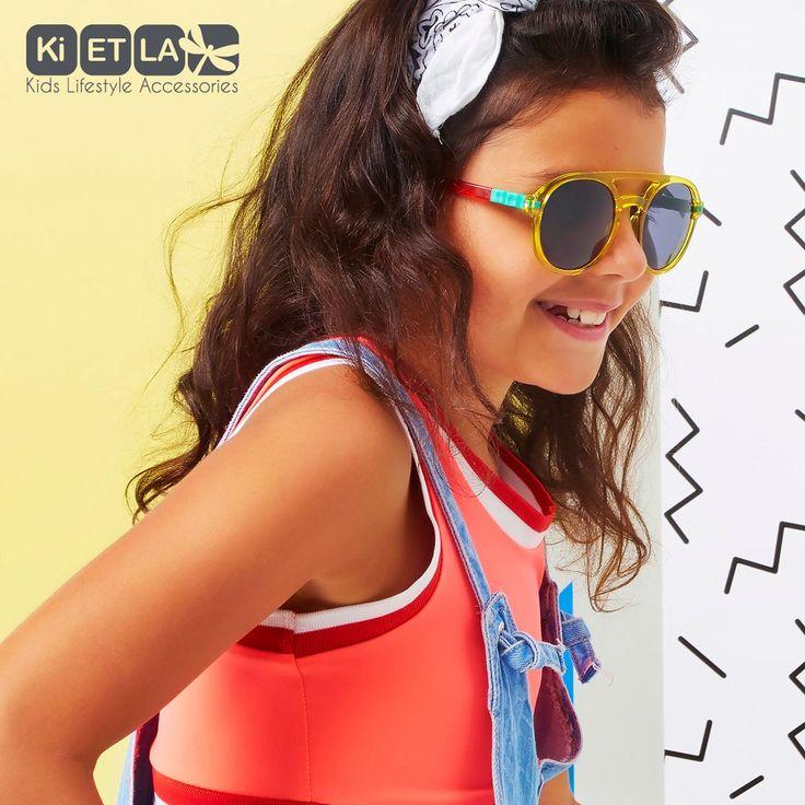 Ochelari de soare Ki ET LA, 6-12 ani - Pilot Memphis