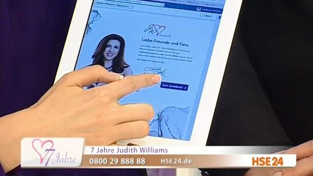 Auf gehts ins Judith Williams Gästebuch - über die HSE24 Facebook Fanpage oder über HSE24.de #fashion #accessoires #beauty #kosmetik #shopping