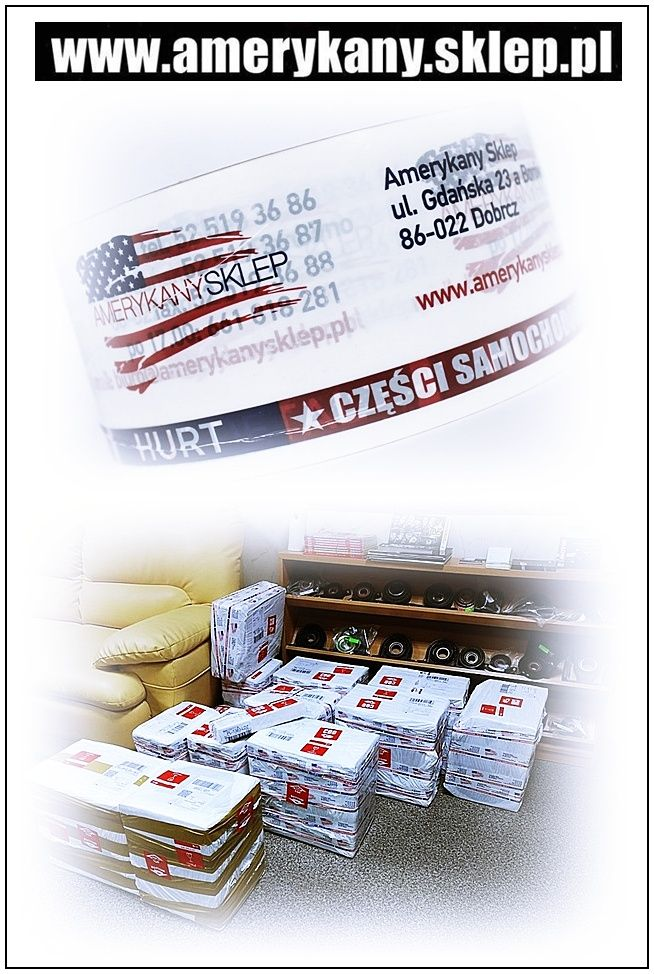 Properly secured shipments from www.amerykany.sklep.pl