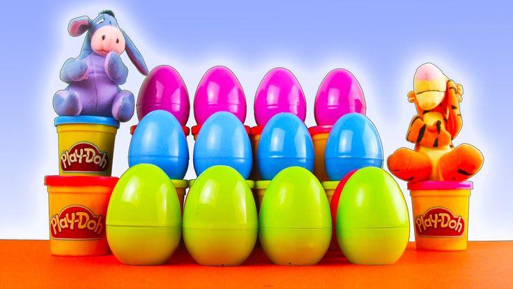 ██►Surprise eggs! Mickey Mouse Clubhouse Клуб Микки Мауса Pluto Nu Pogod...