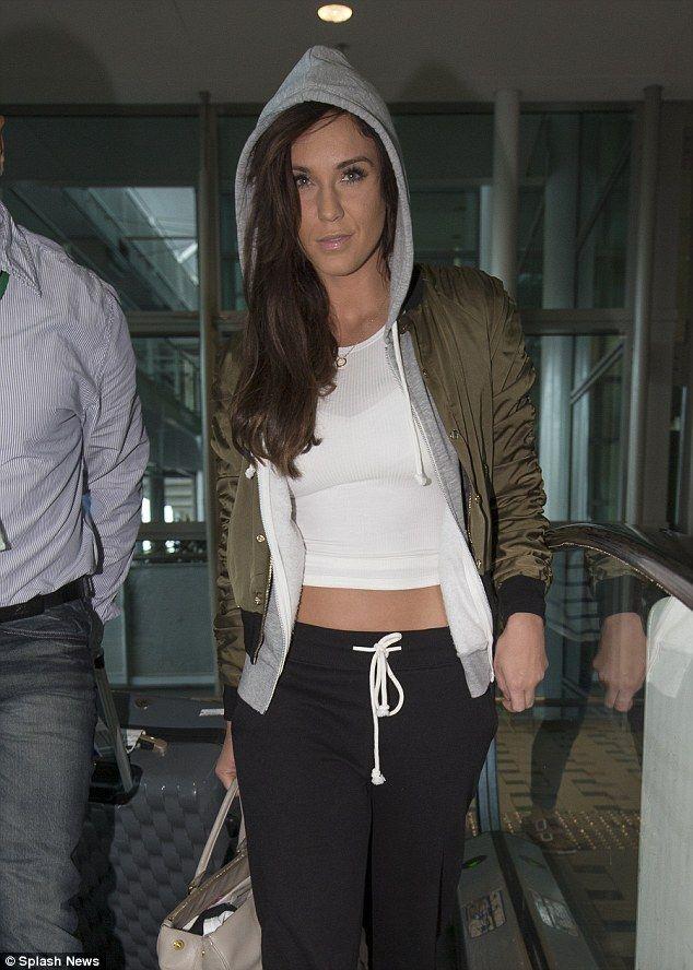 Hitting back: Vicky Pattison has refuted claims that she broke ex-boyfriend Ricci Guarnacc...
