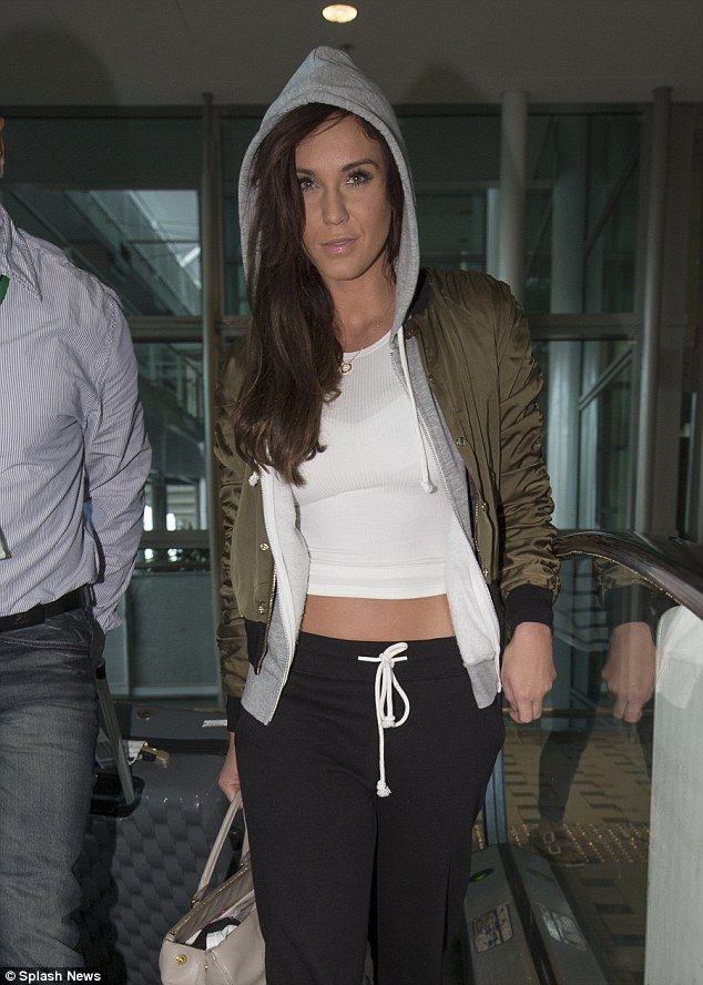 Hitting back: Vicky Pattison has refuted claims that she broke ex-boyfriend Ricci Guarnacc...