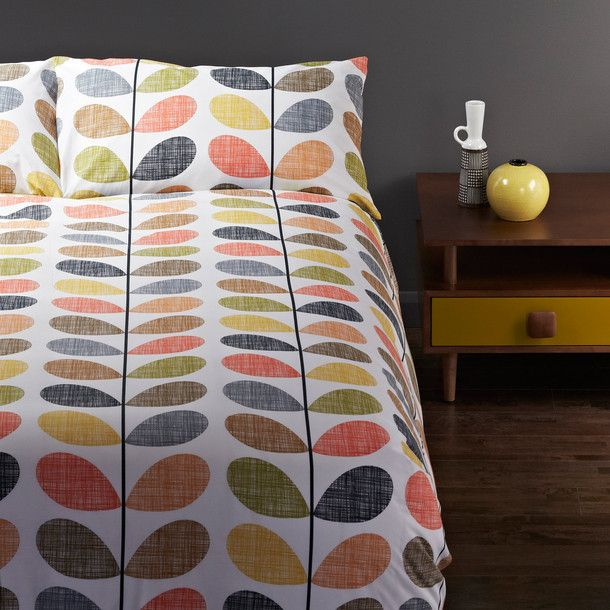 Scribble Stem Duvet by Orla Kiely // Pattern maven Orla Kiely has perfected the art of easy-going, exuberant prints, I love her work