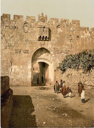 *JERUSALEM ~ St. Stephen's Gate, Jerusalem, Holy Land
