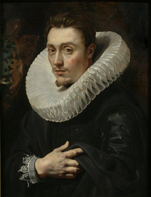 """""""Portrait of a Young Man"""", Peter Paul Rubens (1615)."""