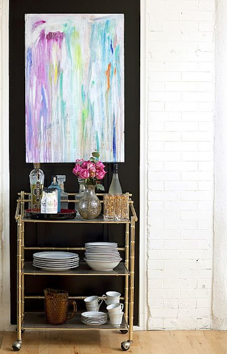 The Beauty of Bar Carts by Jeanine Hays on @HGTV.