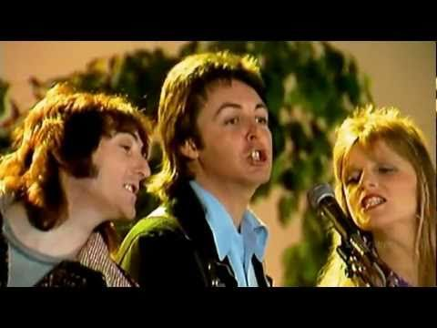 Paul McCartney and Wings - With a Little Luck  1978 Video  stereo  wides...