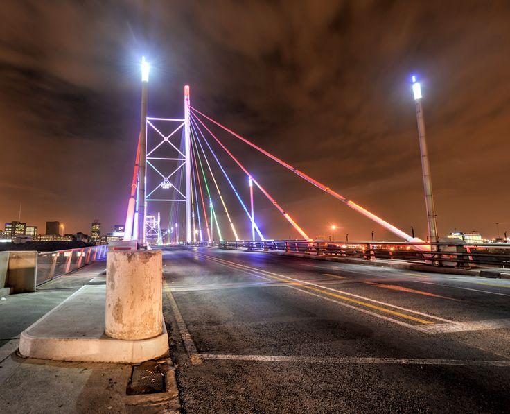 Nelson Mandela Bridge, Newtown, Johannesburg, South Africa. #Africa #weknowbecausewego