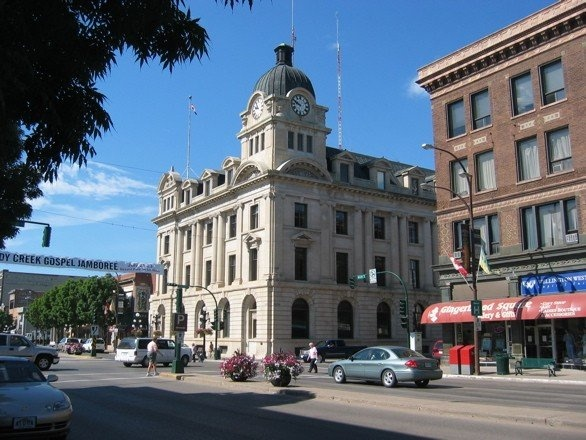 Moose Jaw, Saskatchewan. They have the Al Capone Tunnels and a mud spa I want to check out.