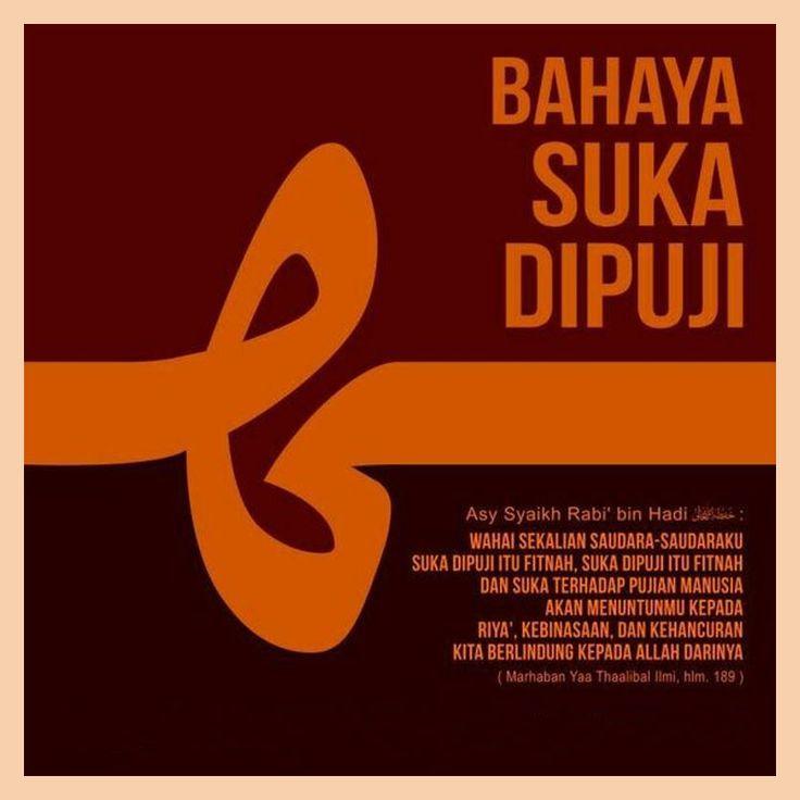 http://nasihatsahabat.com #nasihatsahabat #mutiarasunnah #motivasiIslami #petuahulama #hadist #hadits #nasihatulama #fatwaulama #akhlak #akhlaq #sunnah  #aqidah #akidah #salafiyah #Muslimah #adabIslami #DakwahSalaf # #ManhajSalaf #Alhaq #Kajiansalaf  #dakwahsunnah #Islam #ahlussunnah  #sunnah #tauhid #dakwahtauhid #alquran #kajiansunnah #Riya #BahayaSukaDipuji #Pujian #sukadipujiitufitnah ##Binasa Hancur