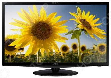 Samsung LT28D310EX  — 16990 руб. —  Телевизор Samsung LT28D310EX с LED-подсветкой и встроенным цифровым тюнером позволит получить четкую и сочную картинку при пониженном расходе электроэнергии даже при столь внушительном размере диагонали 28 дюймов, а стильный современный дизайн с узкой полупрозрачной рамкой и тонким корпусом сделает эту модель желанным дополнением практически любого интерьера. Низкое время отклика избавит зрителей от трудностей восприятия динамичных сцен при наложении…
