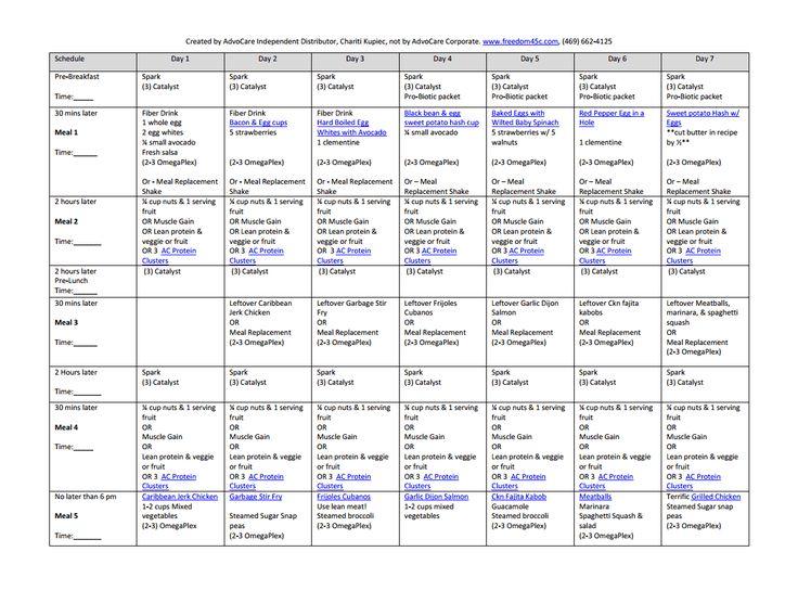 sample 24 Day challenge 1st 7 day menu.pdf
