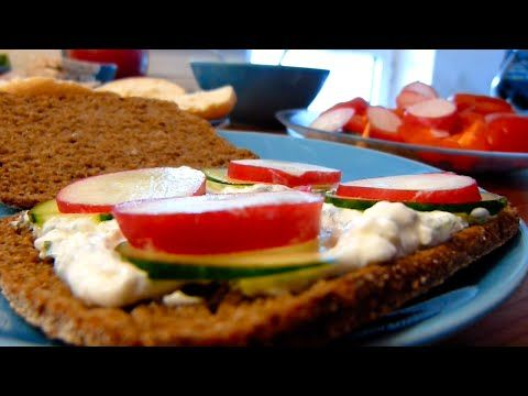 Easy Dinner Day: Cottage Cheese Spread - YouTube