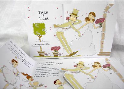 tarjetas de invitacion para matrimonio para hacer manualmente - Buscar con Google