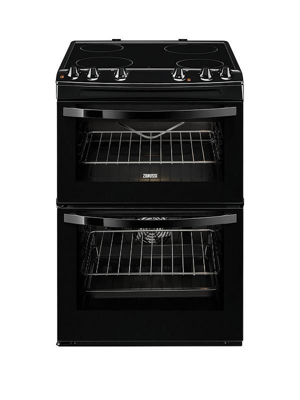 Zanussi ZCV68010BA 60cm Electric Freestanding Double Oven Gives you some of the quickest results possible!The ceramic cooking zones on this hob heat far more rapidly than solid hot plates, enabling you to boil water and cook meals even faster. When induction cooking is not an option, ceramic is an outstanding alternative if you want a heating method that lets you get on with cooking as quickly as possible. Ceramic gets hotter faster than traditional solid hot plates, so you can get out of…