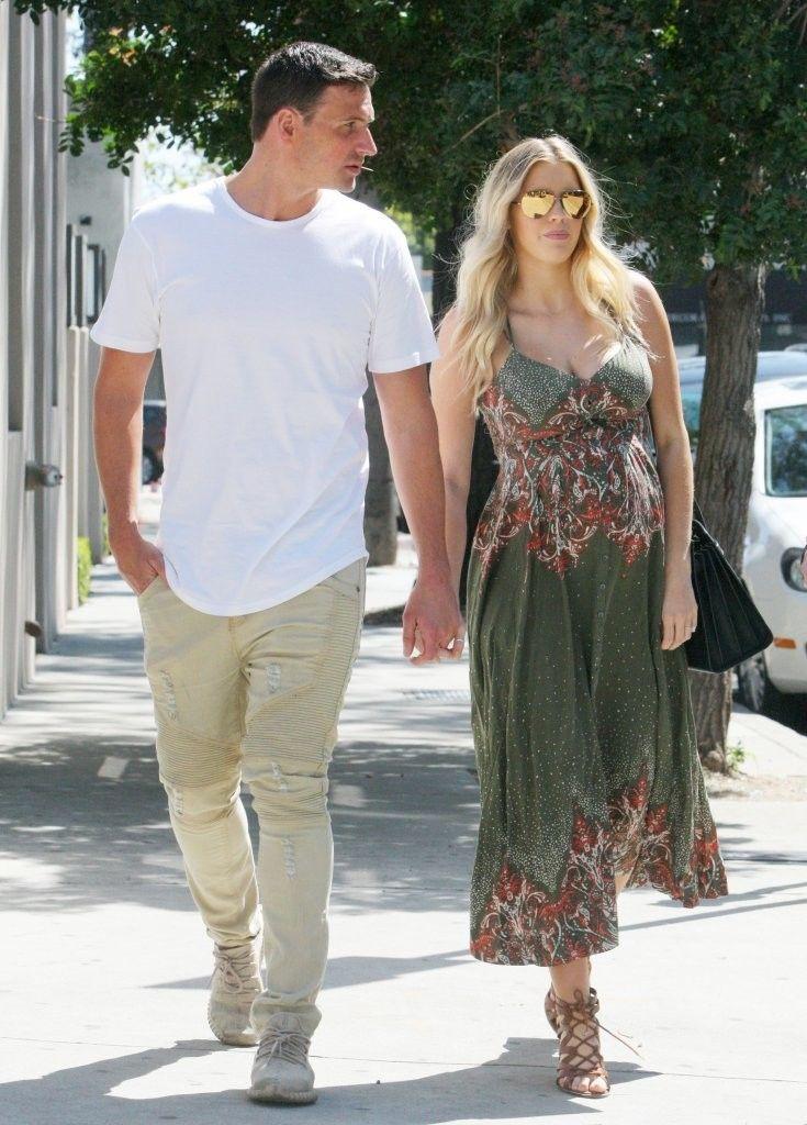 Ryan Lochte and his pregnant girlfriend Kayla Reid
